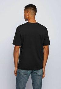 BOSS - TIMA - T-shirt med print - black - 2