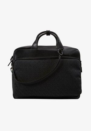 MONO BLEND LAPTOP BAG - Ventiquattrore - black