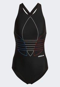 adidas Originals - SWIMSUIT PB - Swimsuit - black - 7