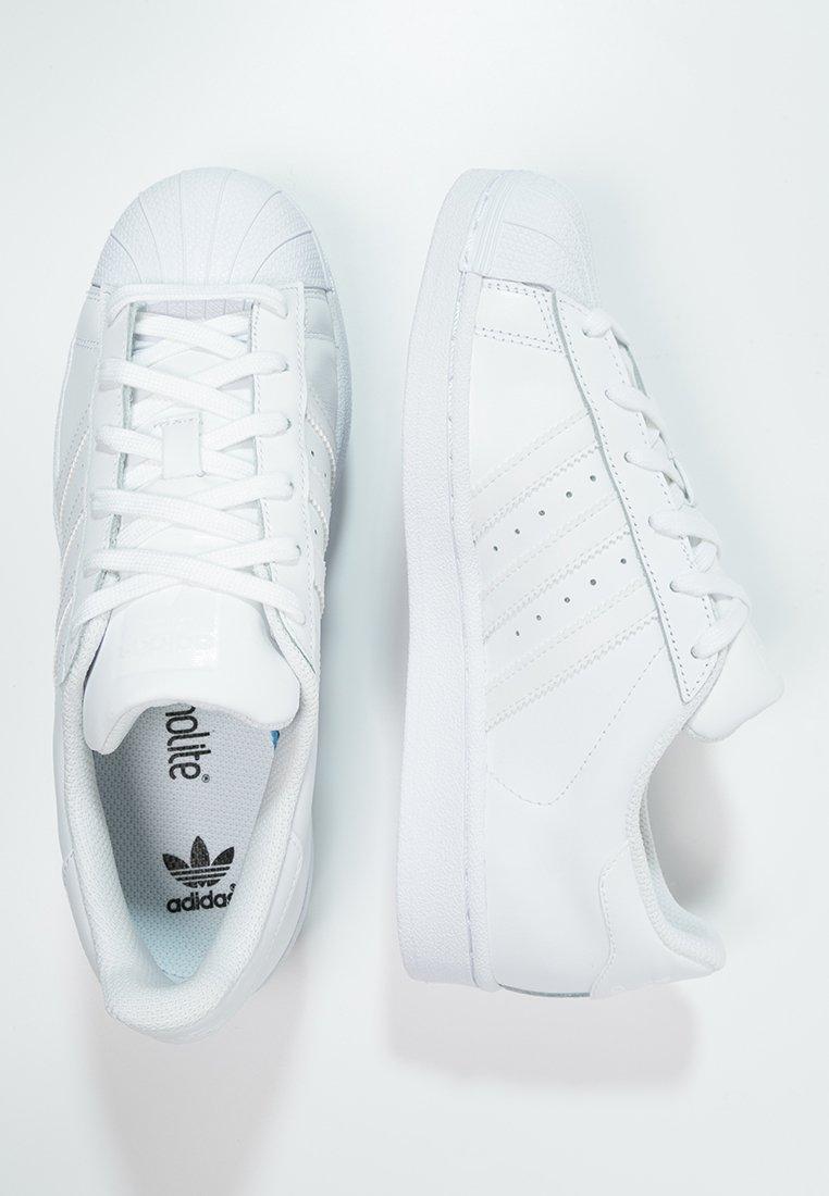 Retrato Extremadamente importante Palmadita  adidas Originals SUPERSTAR FOUNDATION - Baskets basses - white/blanc -  ZALANDO.FR
