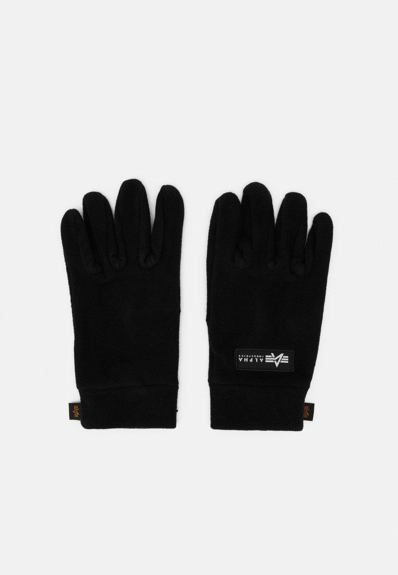 Alpha Industries - GLOVES - Rękawiczki pięciopalcowe - black