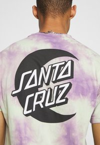 Santa Cruz - MOON DOT MONO UNISEX - T-shirt imprimé - lilac - 5