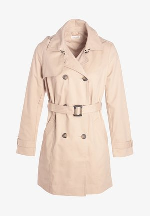 MIT GÜRTEL - Trenchcoat - light brown