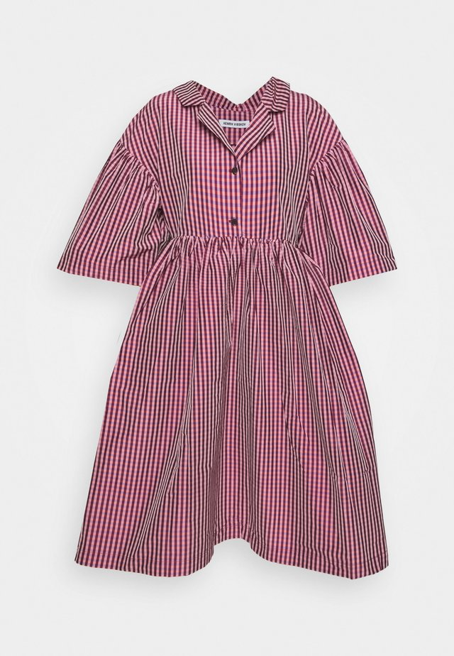 BALSAM DRESS - Abito a camicia - rosé tiles
