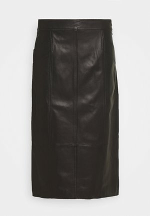 LIGHTWEIGHT PENCIL SKIRT - Bleistiftrock - black