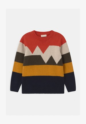 ROUND NECK - Strickpullover - multicolour