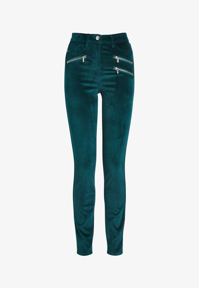 Skinny džíny - green