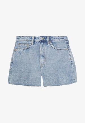 ROWE  - Jeans Short / cowboy shorts - pen blue