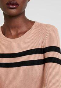 Anna Field - Vestido de tubo - black/beige - 5