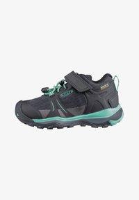 Keen - TERRADORA II LOW WP - Hiking shoes - black/beveled glass - 0