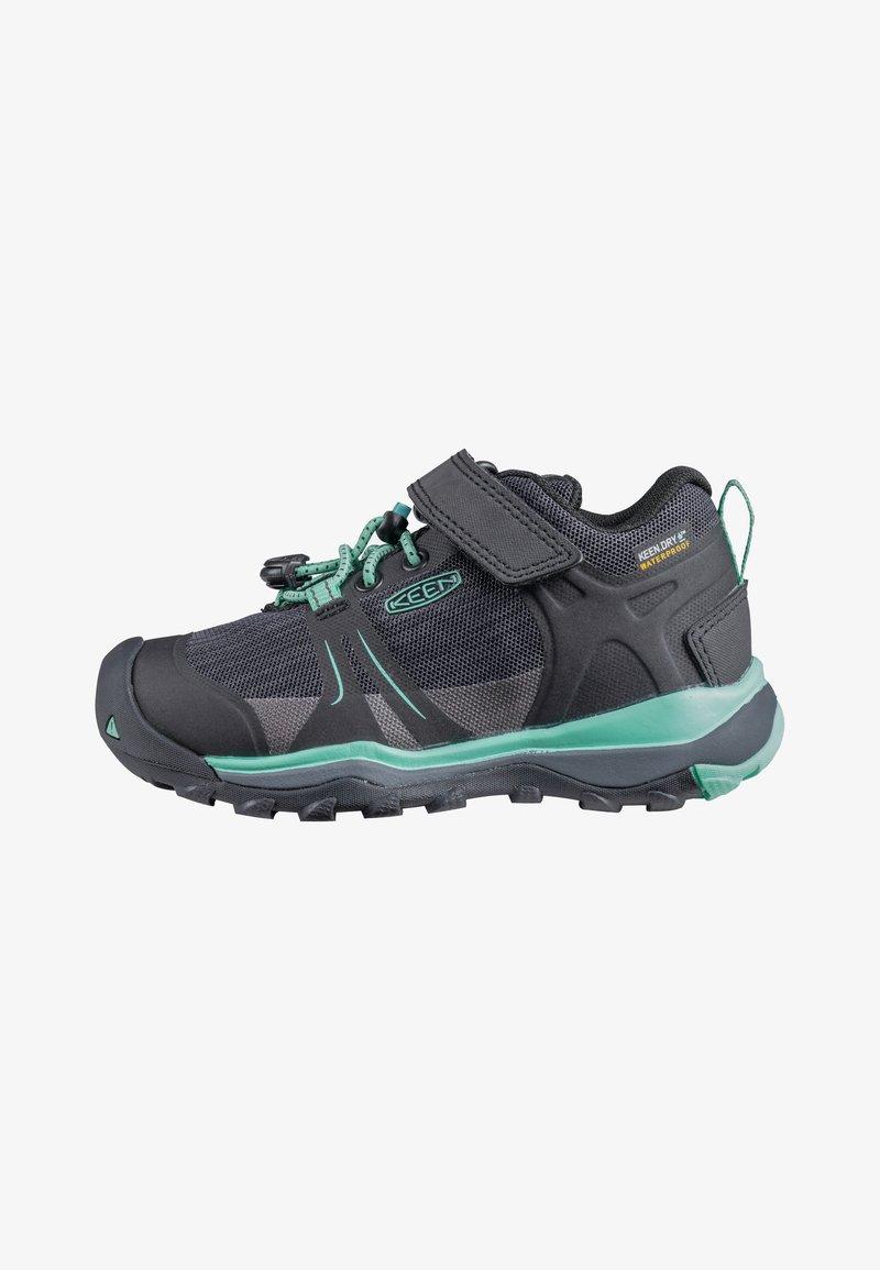 Keen - TERRADORA II LOW WP - Hiking shoes - black/beveled glass