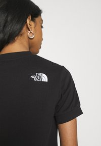 The North Face - TEE DRESS - Jerseykjole - black - 5