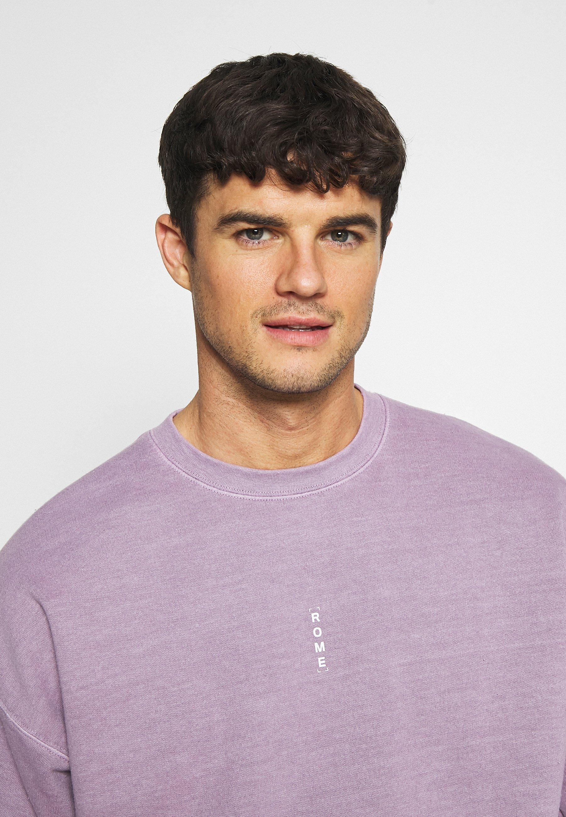 Topman Vert Rome Print - Sweatshirt Lilac/syrin