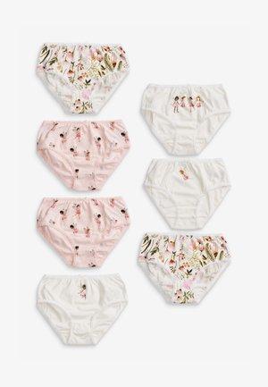 FAIRY 7 PACK - Briefs - pink/white