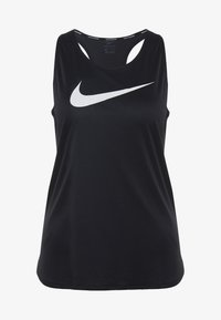 TANK RUN - Sports shirt - black/white