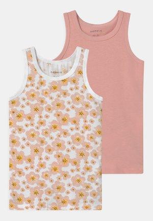NMFTANK 2 PACK - Undershirt - silver pink