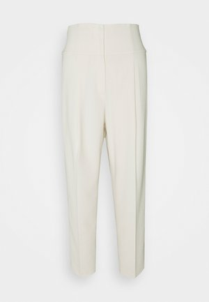 PLEAT CARROT ADMIRAL - Trousers - rice