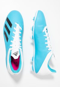 adidas Performance - X 19.4 FXG - Moulded stud football boots - brigth cyan/core black/shock pink - 1