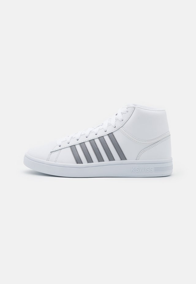 COURT WINSTON MID - High-top trainers - white/neutral gray