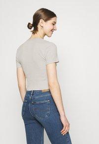 Even&Odd - Print T-shirt - light grey - 2