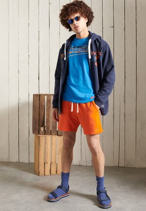 VINTAGE LOGO CALI - Print T-shirt - neptune blue