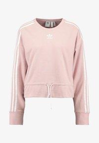 adidas Originals - BELLISTA 3 STRIPES CROPPED PULLOVER - Sweatshirt - pink spirit - 3