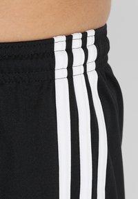 adidas Performance - SQUADRA CLIMALITE FOOTBALL 1/4 SHORTS - Träningsshorts - black/white - 3