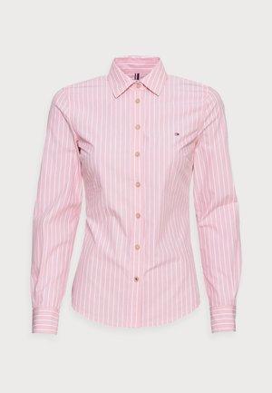 REGULAR SHIRT - Button-down blouse - pink