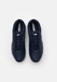 Lotto - SPACE 600 II - Zapatillas de tenis para todas las superficies - navy blue/all white - 3