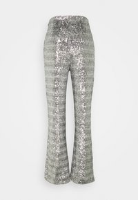 4th & Reckless - CHELSEA TROUSER - Trousers - silver - 1
