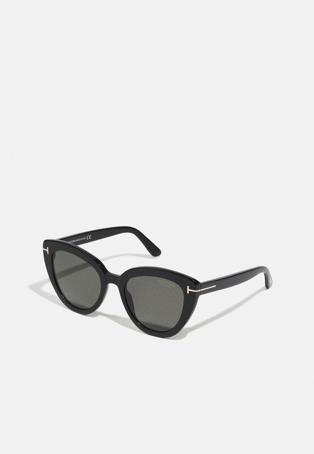 Zonnebril - shiny black/ smoke polarized