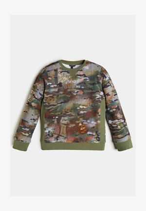 LOGO ALLOVER-PRINT - Sweater - camouflage