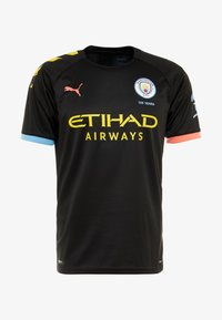 Puma - MANCHESTER CITY AWAY  - Article de supporter - puma black/georgia peach - 4