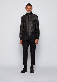 BOSS - NEOVEL - Leather jacket - black - 1