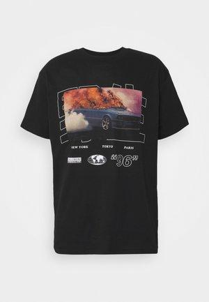 NAWILD - Print T-shirt - black