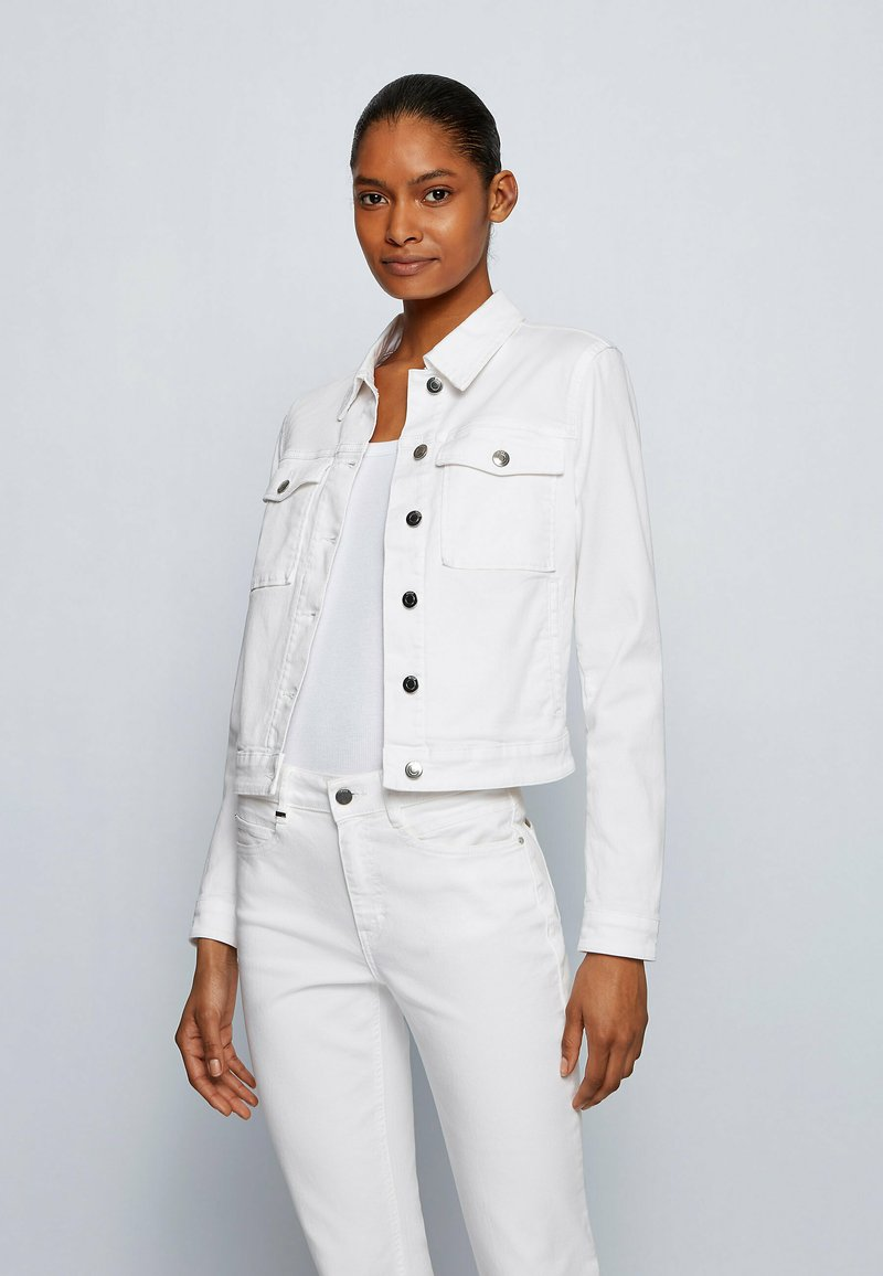 BOSS - Denim jacket - natural