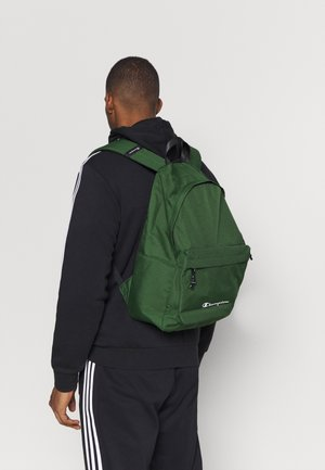 LEGACY BACKPACK - Rucksack - dark green/black