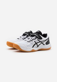 ASICS - UPCOURT UNISEX - Multicourt tennis shoes - white/black - 1
