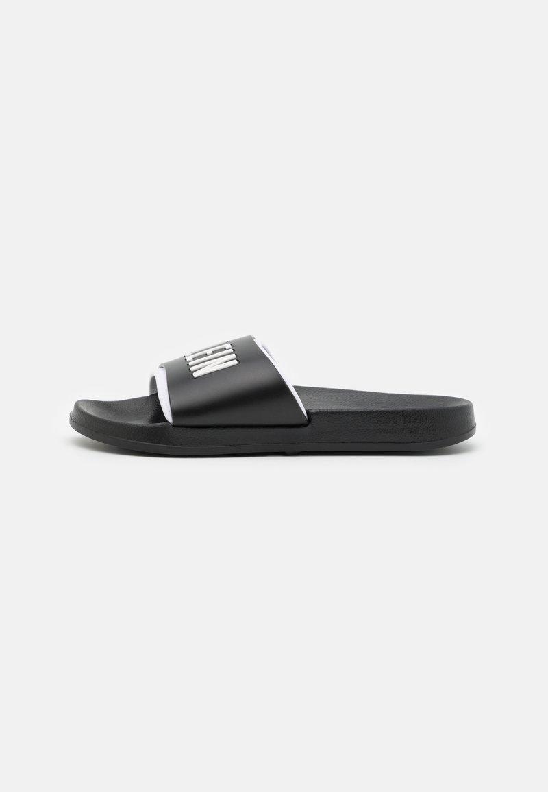 Calvin Klein Swimwear - INTENSE POWER - Matalakantaiset pistokkaat - black