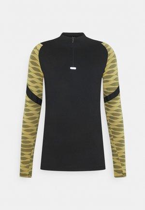 STRIKE21 DRIL - T-shirt de sport - saturn gold/black/white