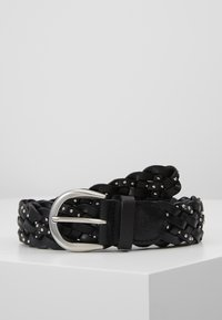 Marc O'Polo - BELT LADIES - Cinturón trenzado - black - 0