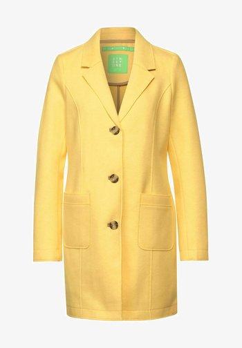 Short coat - gelb