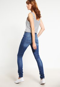 edc by Esprit - HIGH SKIN PANTS DENIM - Slim fit jeans - blue denim - 2
