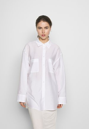 SANDIE - Button-down blouse - coconut wh
