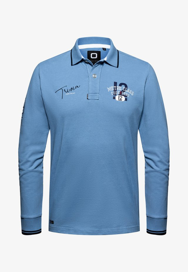 Polo shirt - denim blue