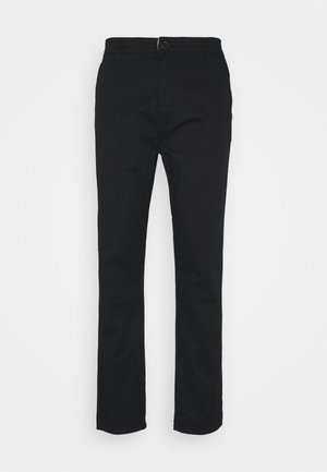 JIM LIGHT - Chino kalhoty - black