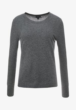 LAYLA CREW - Strikkegenser - heather coal grey
