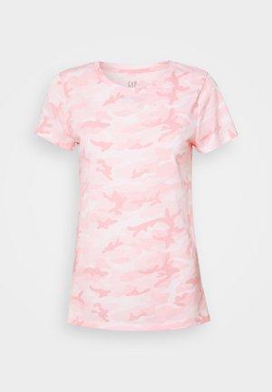 FAV CREW - T-shirt med print - pink