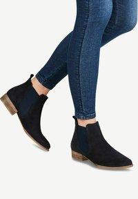 Tamaris - Boots à talons - navy - 0