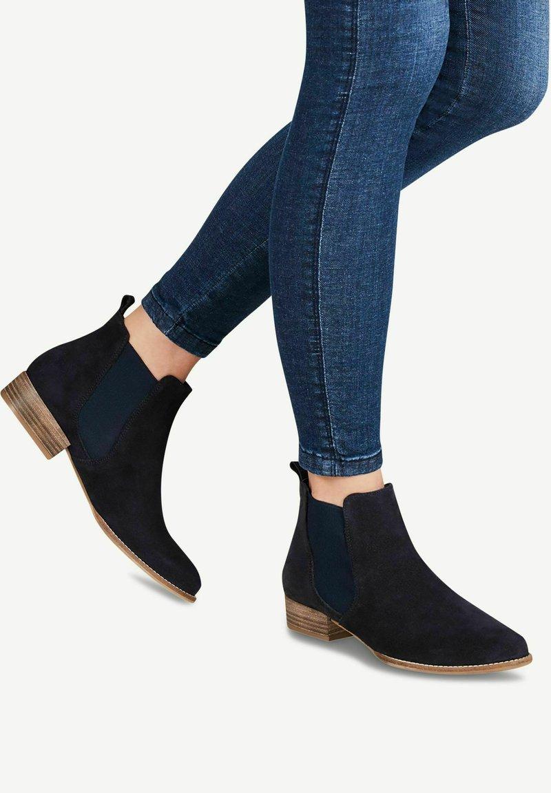 Tamaris - Boots à talons - navy